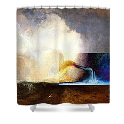 Layered 1 Turner Shower Curtain