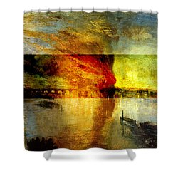 Layered 12 Turner Shower Curtain