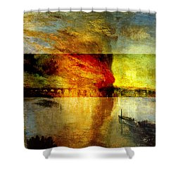 Layered 12 Turner Shower Curtain
