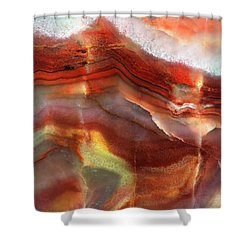 Layers Of Expansion Shower Curtain