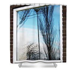 Layers Of Reality Shower Curtain
