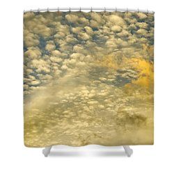 Layers Of Sky Shower Curtain