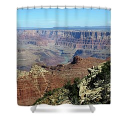 Layers Of The Canyon Shower Curtain