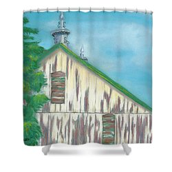 Layers Of Years Gone By Shower Curtain