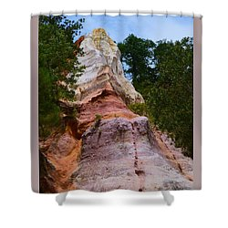 Layers Shower Curtain by Warren Thompson
