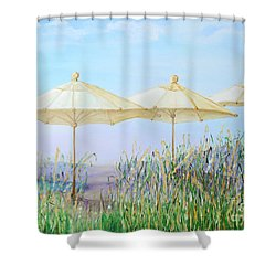 Lazy Days Of Summer Shower Curtain by Barbara Anna Knauf