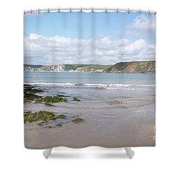 Lazy Devon Days Shower Curtain