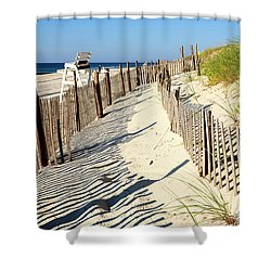 Lbi Dunes Shower Curtain