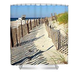 Lbi Dunes Shower Curtain