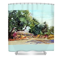 Lbj Grasslands Tx Shower Curtain
