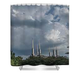 Lds Storm Clouds Shower Curtain