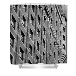Le Chateau Frontenac Shower Curtain by Juergen Weiss