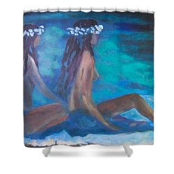 Le Hawaiane  Shower Curtain