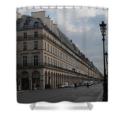Shower Curtain featuring the photograph Le Meurice Hotel, Paris by Christopher Kirby