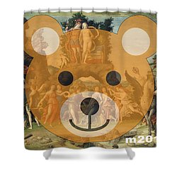 Le Parnasse Shower Curtain