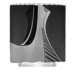 Le Stade Olympique De Montreal Shower Curtain