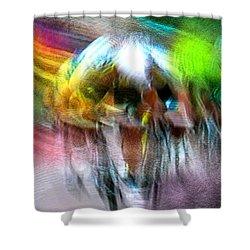 Le Tour De France 08 Shower Curtain by Miki De Goodaboom