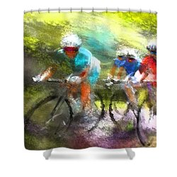 Le Tour De France 11 Shower Curtain