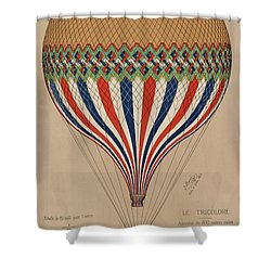 Le Tricolore Shower Curtain