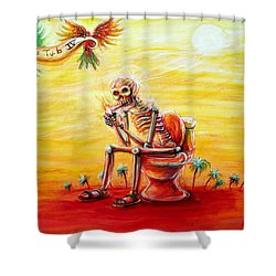 Le Tub Iv Shower Curtain