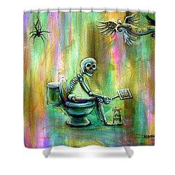 Le Tub V Shower Curtain