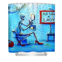 Le Tub Vi Shower Curtain