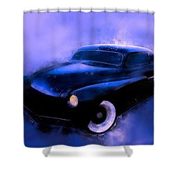 Lead Sled 51 Mercury Watercolour Illustration Shower Curtain