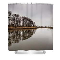 Shower Curtain featuring the photograph Leader by Davorin Mance