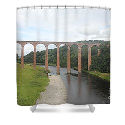 Leaderfoot Viaduct Shower Curtain