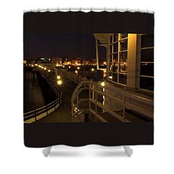 Leading Lights Shower Curtain by Hazy Apple