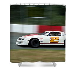 Leading The Pack In The Turn Shower Curtain