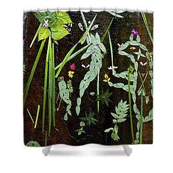 Leaf Art Shower Curtain
