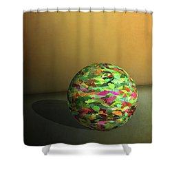 Leaf Ball -  Shower Curtain