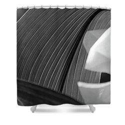 Leaf Texture Shower Curtain