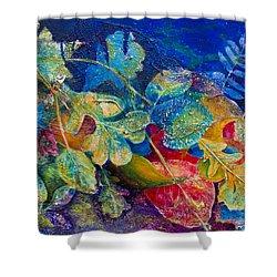 Leafin An Imprint Shower Curtain by Jo-Anne Gazo-McKim