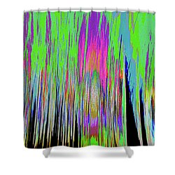 Shower Curtain featuring the photograph Leafless Trees by Tony Beck
