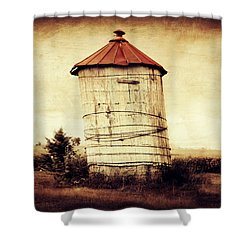 Leaning Tower Shower Curtain by Julie Hamilton