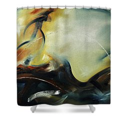 Leap Of Faith Shower Curtain by Craig T Burgwardt