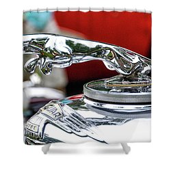Leaper Shower Curtain