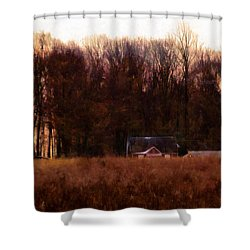 Leave The Light On For Me Shower Curtain