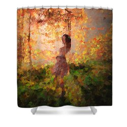Shower Curtain featuring the photograph Leave The Past by Rose-Maries Pictures