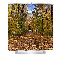 Leavenworth Waterfront Park Shower Curtain
