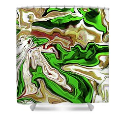 Leaves  Shower Curtain by Molly McPherson