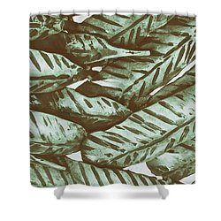 Leaves No. 3-1 Shower Curtain