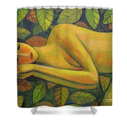 Leaves Of Absence Shower Curtain