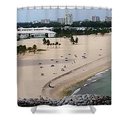 Leaving Ft Lauderdale Shower Curtain