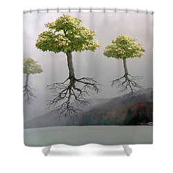 Leaving Home Shower Curtain