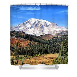 Leaving Paradise Shower Curtain