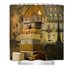 Leaving Quebec Shower Curtain by Jeff Burgess