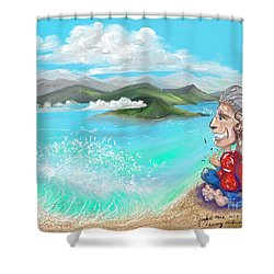 Leaving The Dream Shower Curtain